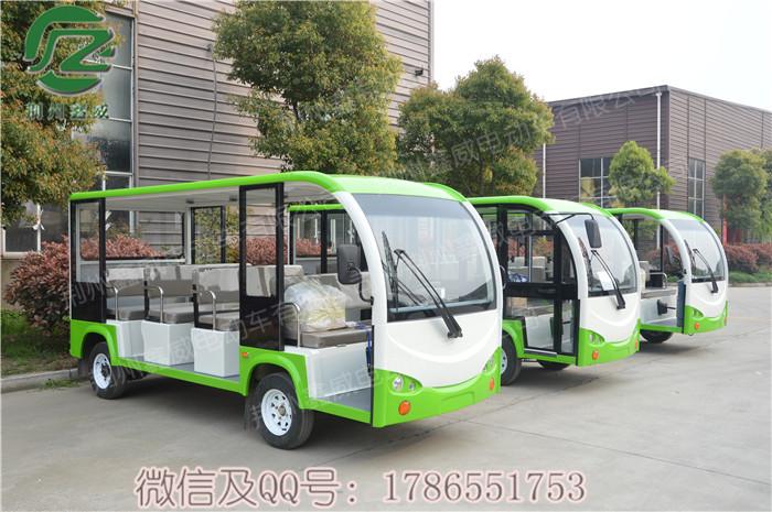 襄樊市校园小区电动公交车,景区游览电瓶观光车,鑫威JZT11电动车
