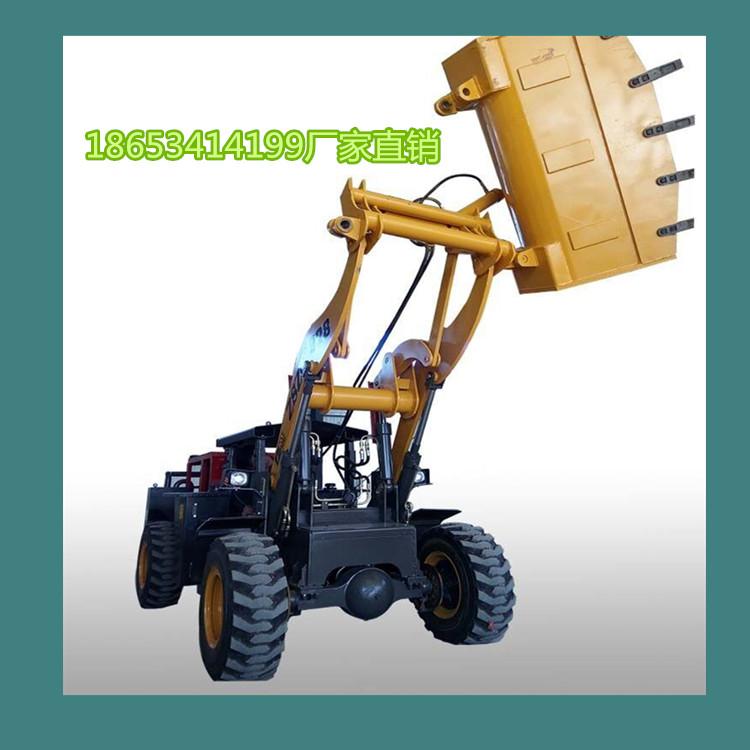 井下小铲车带防护棚的矿用小铲车更安全en图片