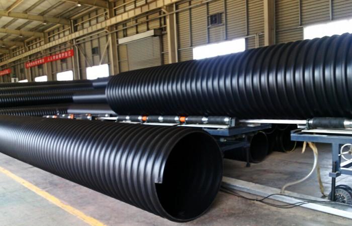 HDPE钢带增强型螺旋波纹管