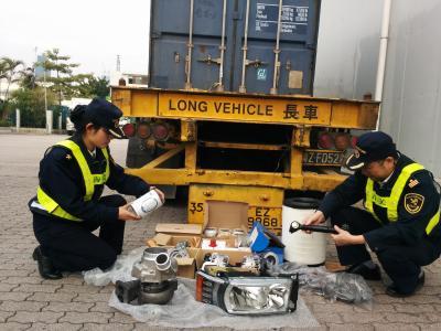 香港旧配件进口报关旧配件进口清关公司