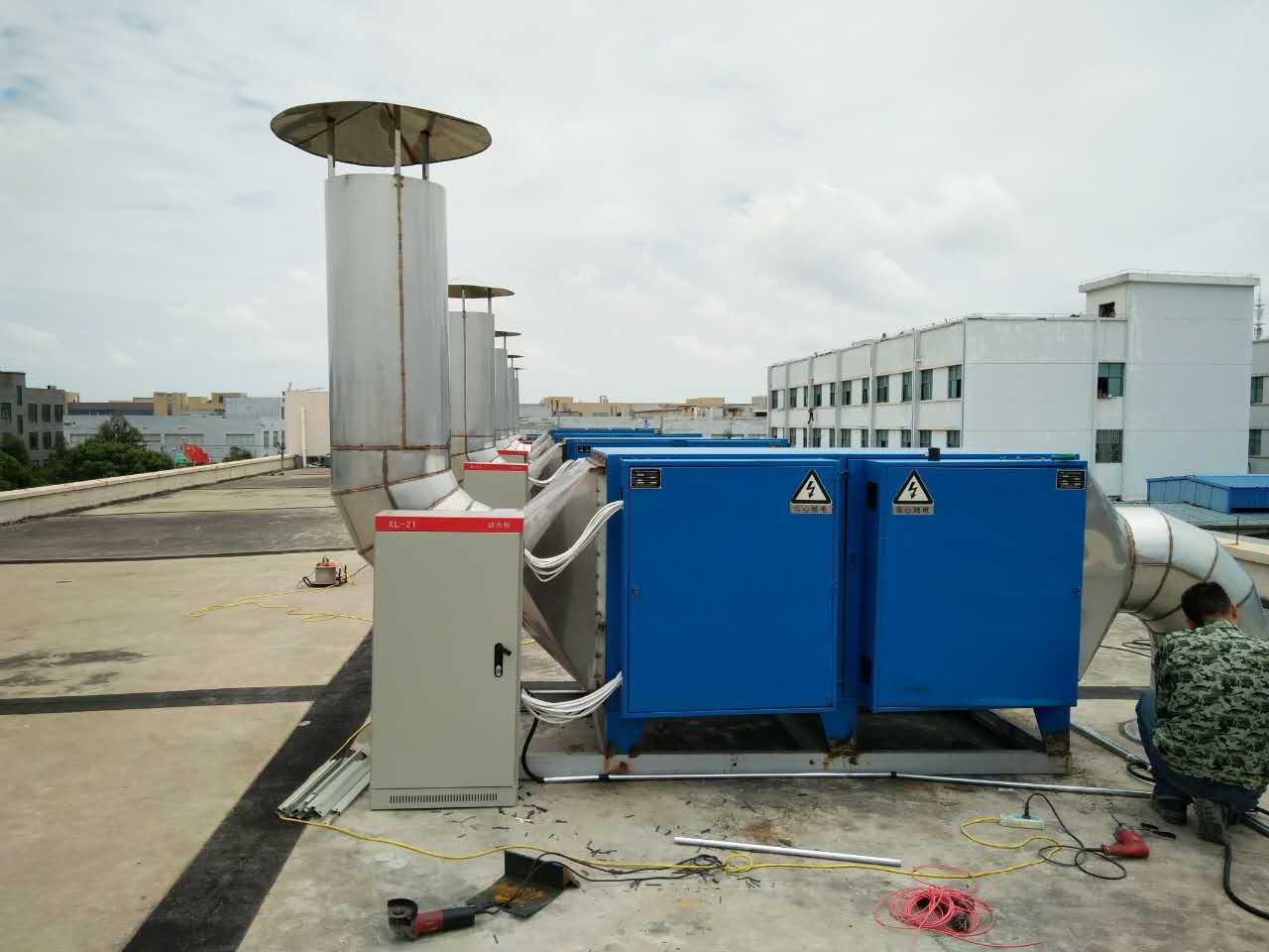 台州工业废气净化设备安装