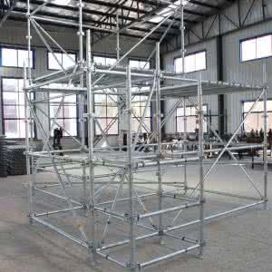 承插式盘扣式脚手架用于模板支撑体系中的构造要求