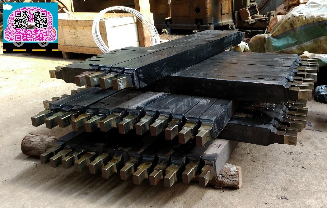 梭式矿车刮板加工 梭车板簧定做