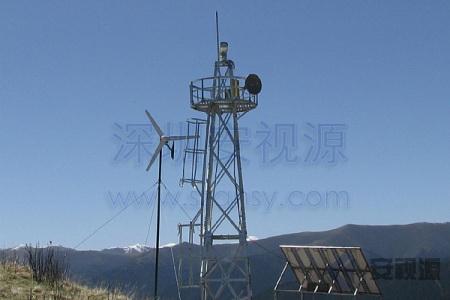 安视源无线微波应用于广东某码头实时监控