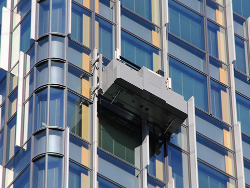 SERBOT轨道式高楼清洗机器人