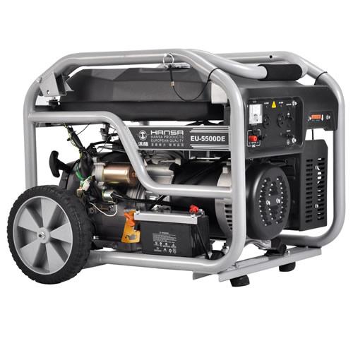 汉萨7KW汽油发电机价格EU-7000DE