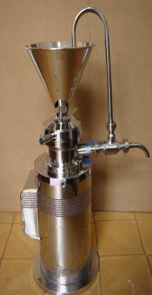 卫生级立式胶体磨/厂家直供分体式胶体磨/科研用胶体磨