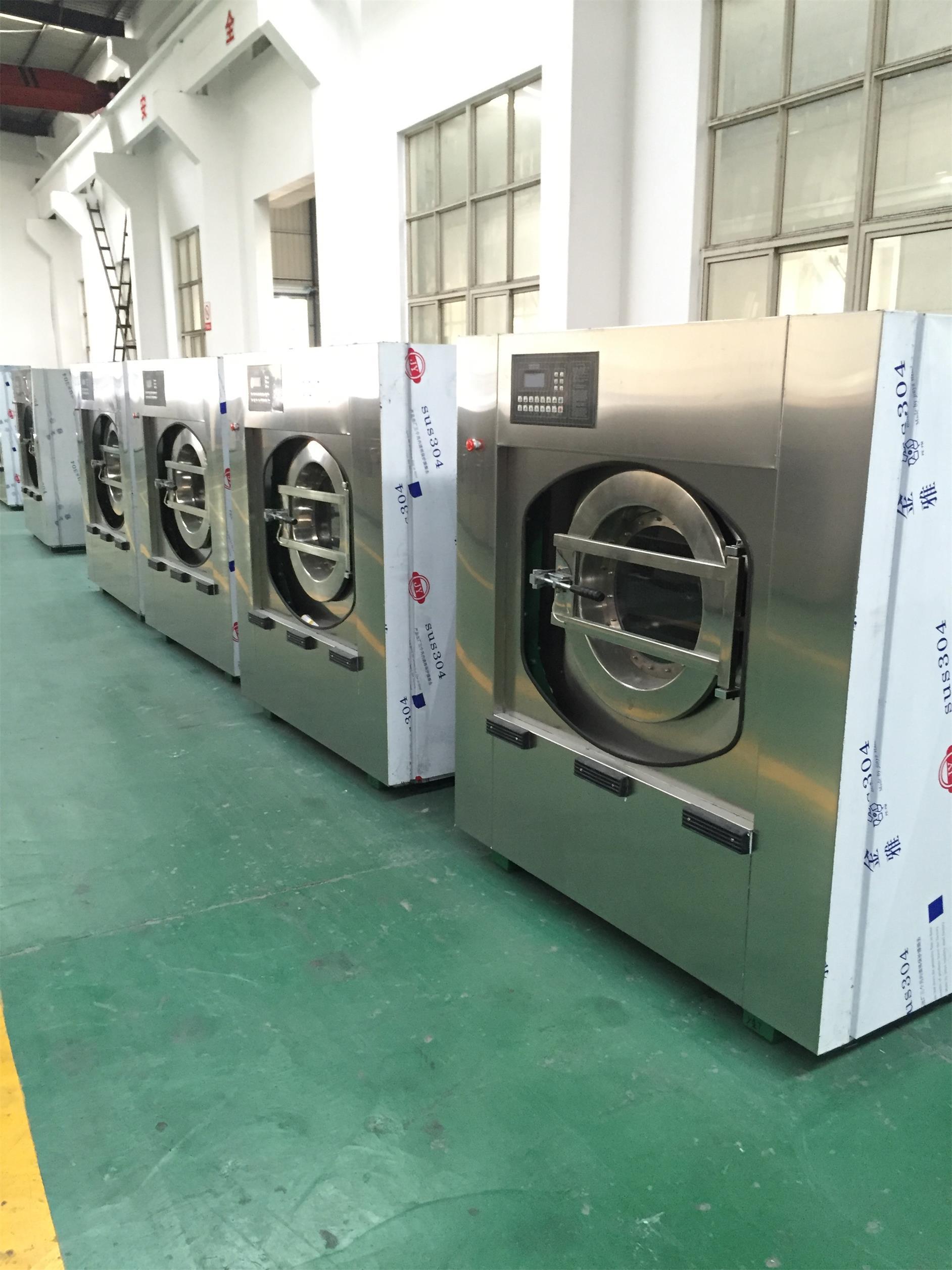 大型布草洗衣厂设备供货商,全自动洗脱机价格