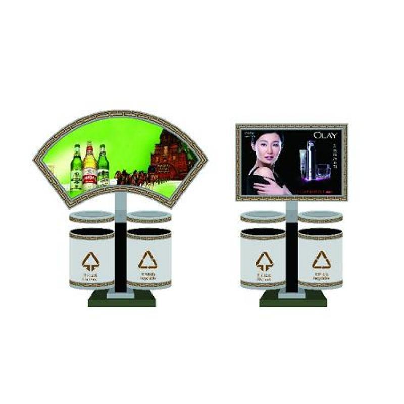 制造各种款式和各种尺寸户外广告灯箱 滚动灯箱