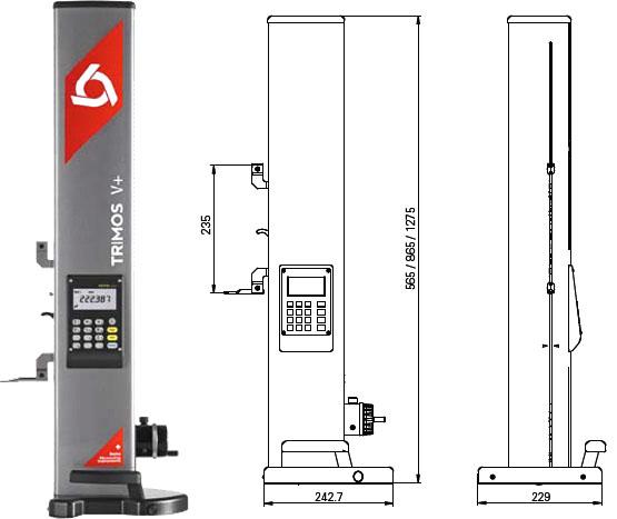 瑞士trimos测高仪V7-700