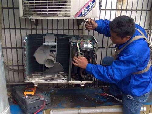 通州区乔庄空调维修电话-专业空调加氟-安装-移机-拆装