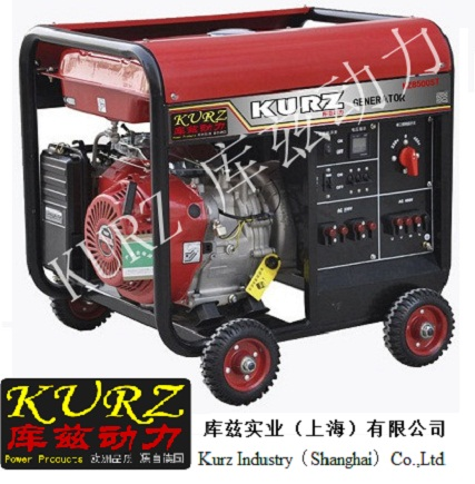 7.5KW汽油发电机单三相一体机