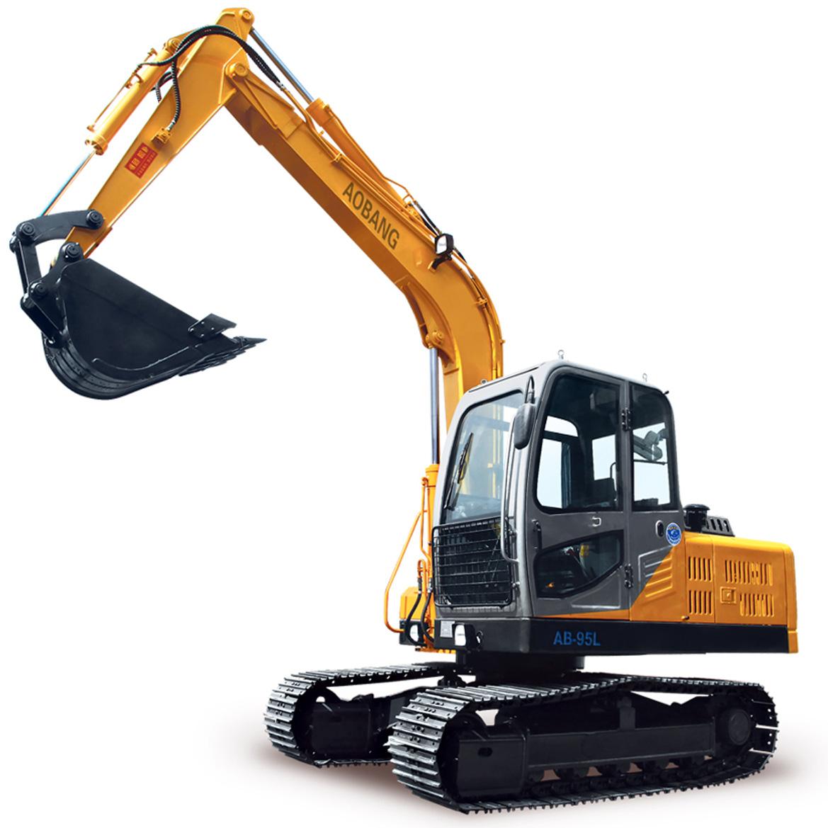 奥邦AB-95L履带式挖掘机