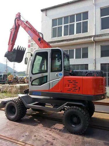奥邦AB-95L履带式挖掘机@厂家多少钱