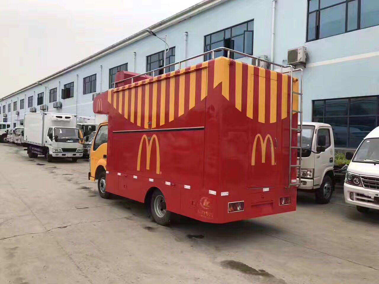 移动售货车早餐小吃车 温州奶茶冰淇淋饭菜配送快餐... - 虎易网