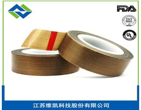 维凯厂家直销特氟龙塑钢自粘焊布