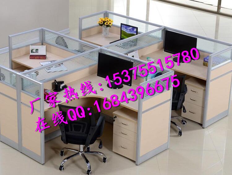 合肥组合工位电脑桌 屏风隔断办公桌 屏风挡板桌