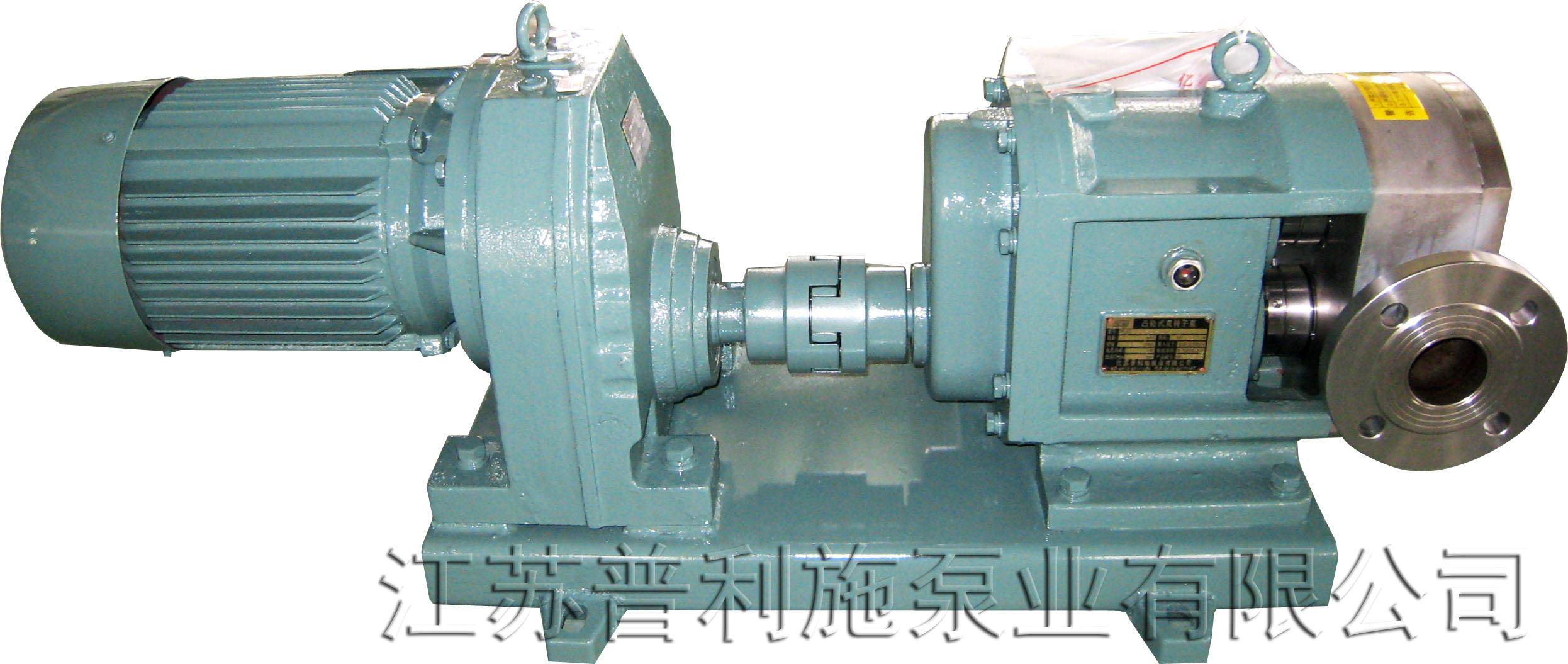普利施 热销 PLST型 不锈钢高粘度转子泵 污泥转子泵