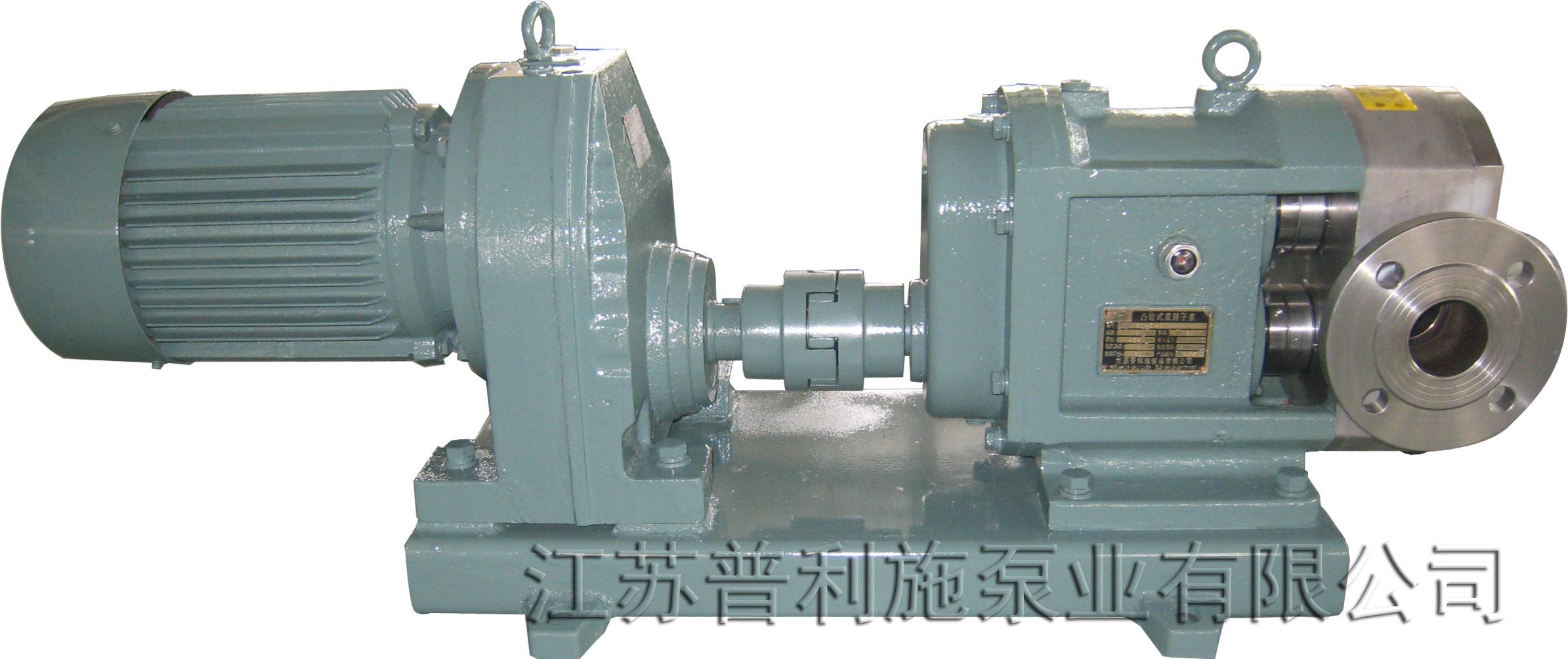 普利施50PLST6-10 凸轮泵 凸轮转子泵