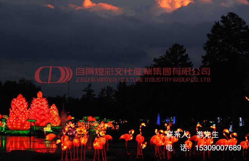 全国各地灯会灯展设计制作、主题灯光秀规划设计、中国彩灯节出口展出