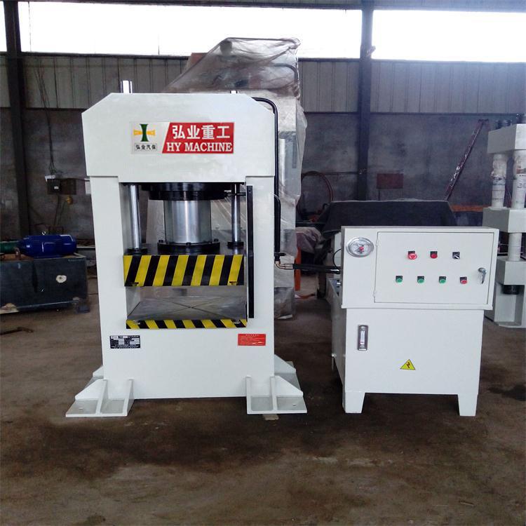 100T全钢结构框式液压机 龙门压力机现货供应