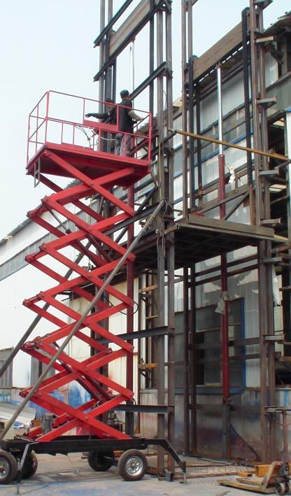 怀化市 鹤城区 厂家直销启运牌移动式升降机 剪叉式升降机