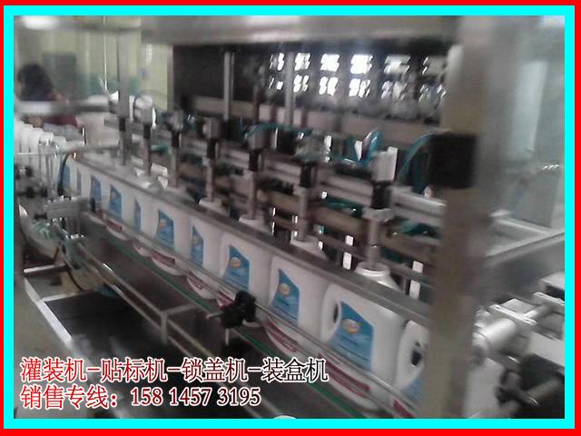 洗衣液全自动灌装机 洗洁精灌装机 防滴漏 减少泡沫 耐腐蚀