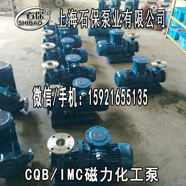 上海厂家供应微型磁力泵CQB65-40-250