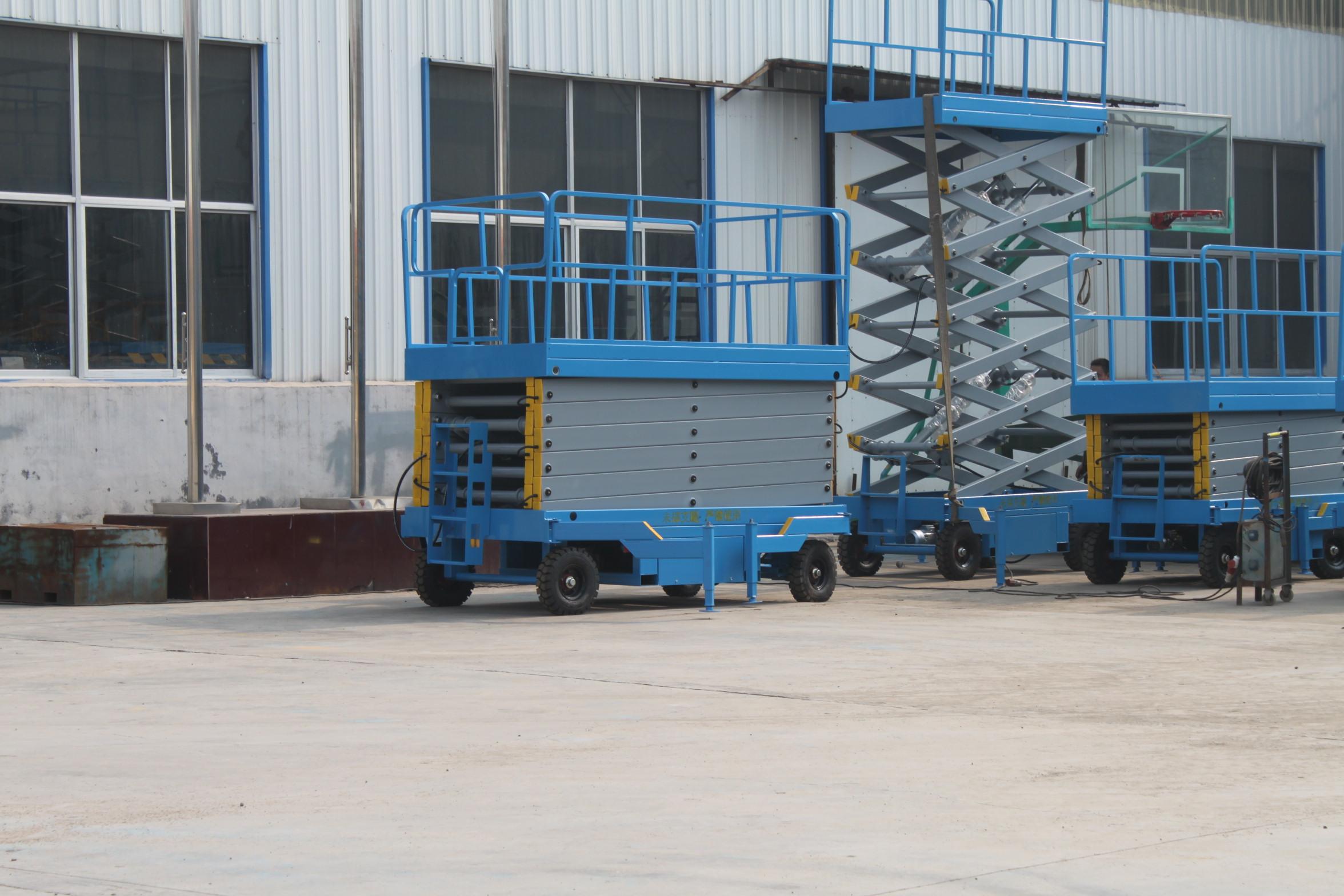 威海移动式升降机厂家 高空作业平台