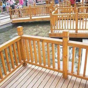 供兰州防腐木护栏和甘肃防腐木栏杆