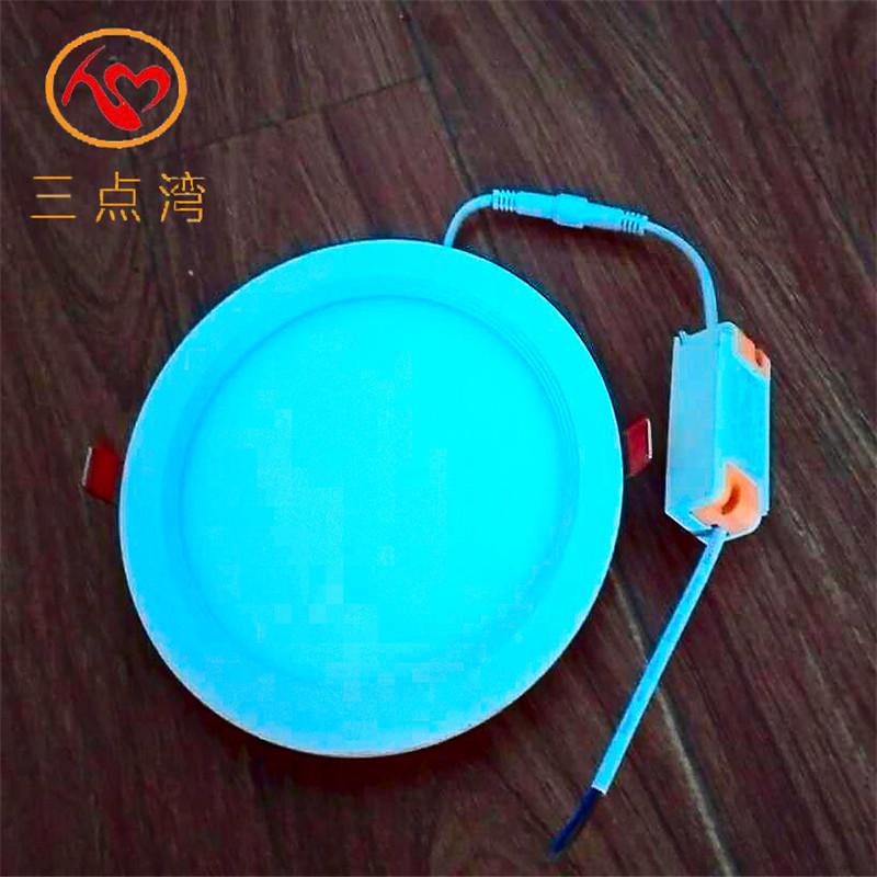 安装超薄面板灯用嵌入式暗装圆形