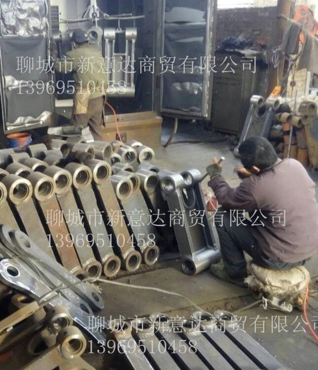 钢材原料价格上涨挖掘机工字架成本提高