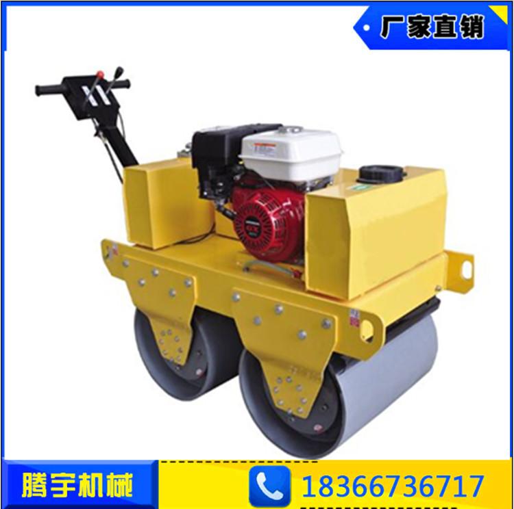 厂家直销TY-600C双钢轮柴油压路机  手扶式双钢轮压路机