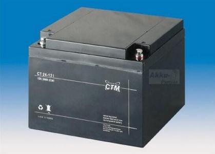 德国CTM蓄电池CT24-12/12V24AH代理商