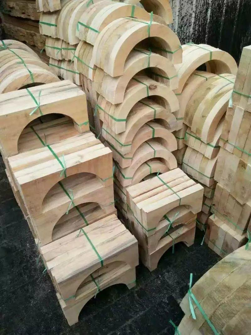 50*50防震垫块多少钱 40*50耐高压管道木托 多少钱明水县供应商电话