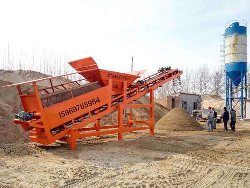 筛沙机生产基地厂家直接供货