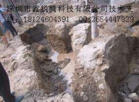 驻马店市代替炸药破碎基坑石头机械效率很快