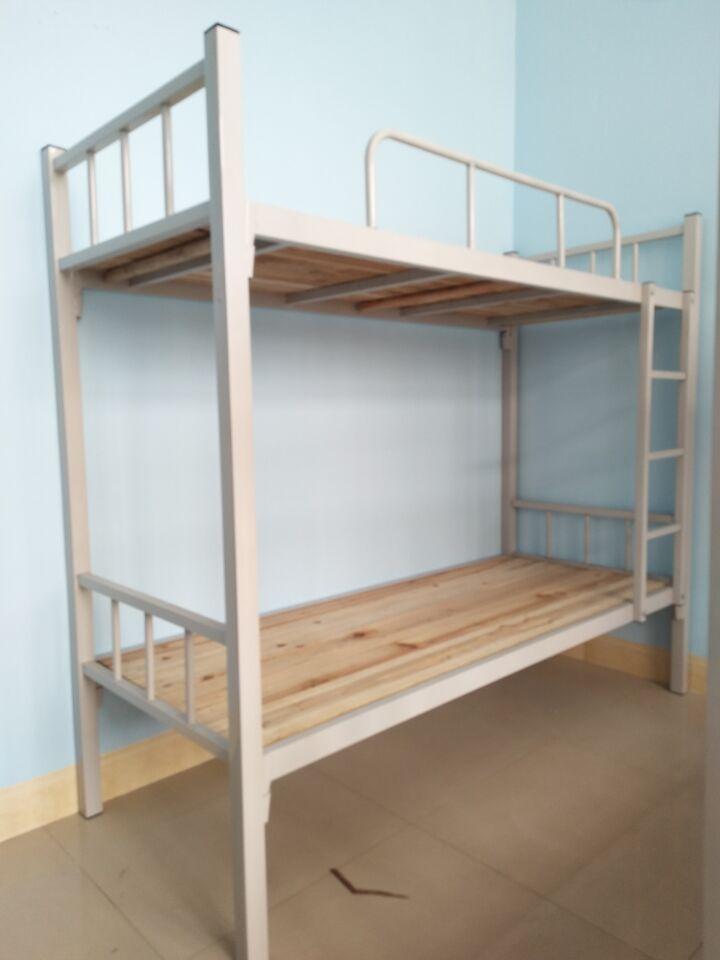 南宁厂家直销1.0米宽上下铺双层铁架床