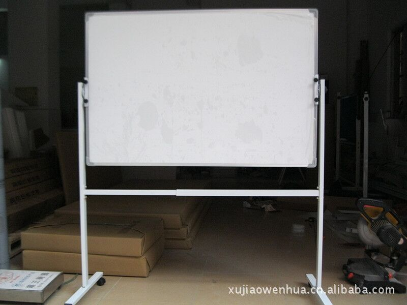 全新单面磁性白板 双面白板 移动白板包安装