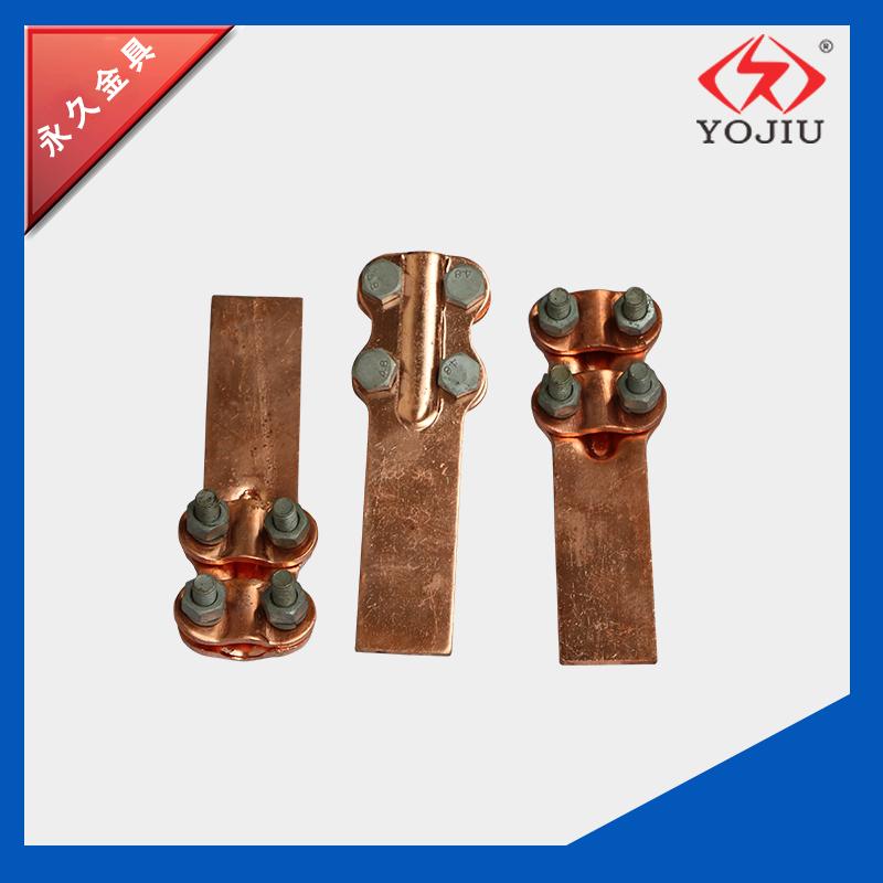ST螺栓型设备线夹ST-2全铜设备线夹