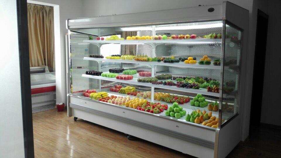 池州水果保鲜柜,水果保鲜展示柜,水果冷藏柜价格