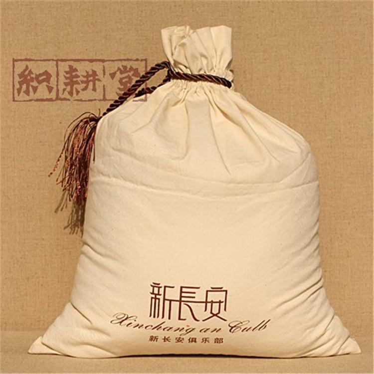 郑州织耕堂 郑州礼品束口袋 购物包装袋公司 帆布礼品袋厂家定做