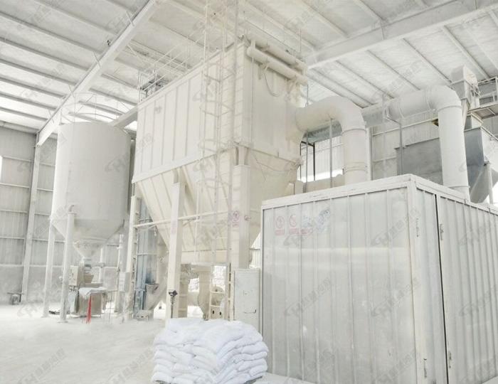 一整套大理石超细磨粉机生产线设备产量有多大