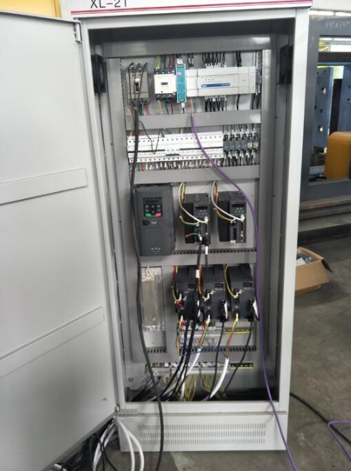 九江控制柜厂方定制成套PLC柜 电气控制柜 自动化PLC系统柜