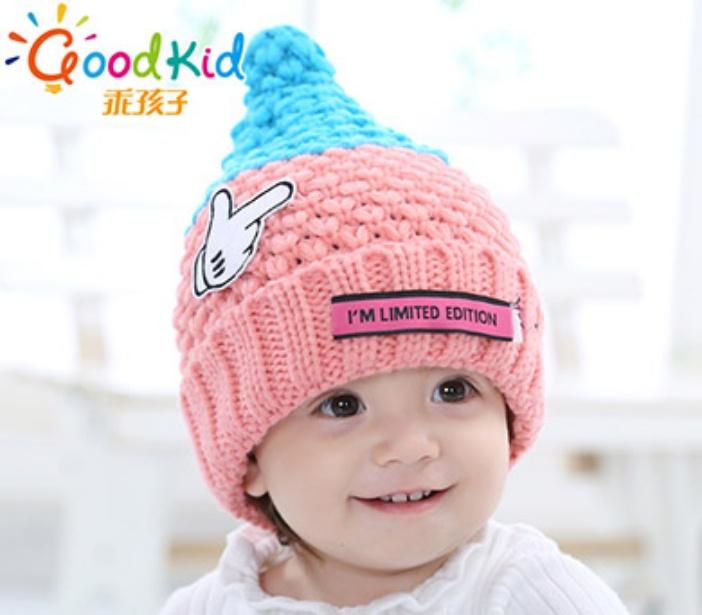 新款秋冬韩版儿童纯色系带布帽_怀化帽子批发