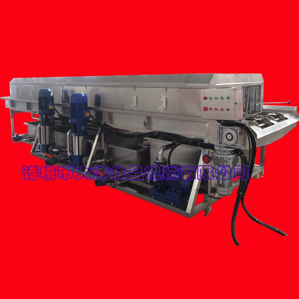 自动化强力去筐子油污 大洋牌轨道式洗筐机