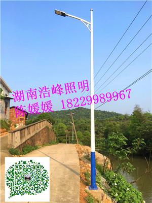 湖北新农村路灯厂家LED太阳能路灯报价