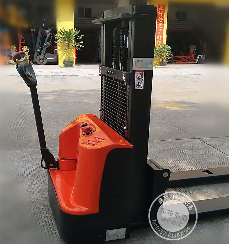 热卖 电动堆高车 电力叉车 全自动液压升高车 电瓶铲车 1.5吨 2吨