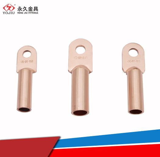 永久金具DT-70铜接线端子,铜鼻子厂家