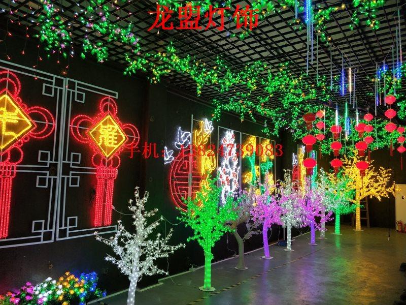LED樹燈戶外景觀燈LED發光裝飾燈LED插地燈樹燈LED仿真樹廠家直銷